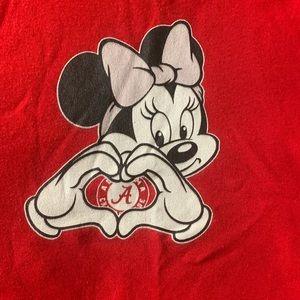 Alabama Crimson Tide Onesie Minnie Mouse Bodysuit